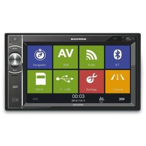"""Autorádio MACROM M-DL5000 - 6,2"""" / USB / SD / BT / GPS"""