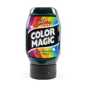 Autovosk Turtle Wax Color Magic - tmavě zelený 300ml