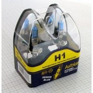 Autožárovka H1 / 12V - 55W modrá Autolamp (2ks)