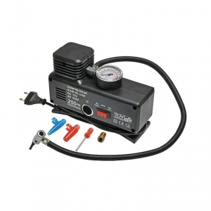 Kompresor 12V DC / 230V AC - 18 Bar / 250 PSI