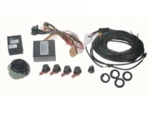Parkovací snímače 4 - senzorové s adaptérem k OEM systémům VW / Seat / Škoda