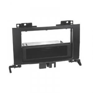 Plastový rámeček autorádia - Mercedes Sprinter / VW Crafter (2006->) s klimatizací 1-DIN / 2-DIN