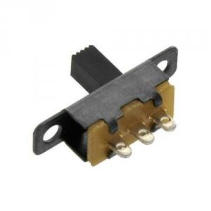 Posuvný přepínač 50V / 0,5A - 3PIN / 2-polohový (12x7,5x15,6mm)