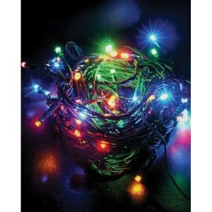 Vánoční světelná řetěz - 60x LED s barevnými efekty IP20 (10m)